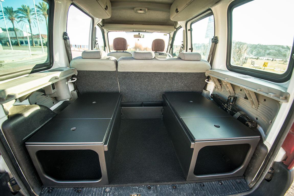 Muebles dacia dokker furgo muebles muebles para for Muebles furgoneta camper