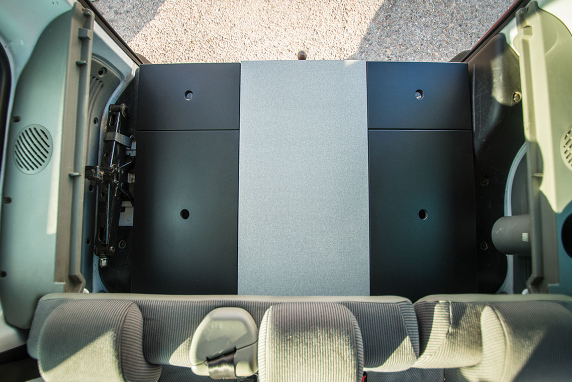 Muebles peugeot partner furgo muebles muebles para - Muebles para camperizar furgonetas ...