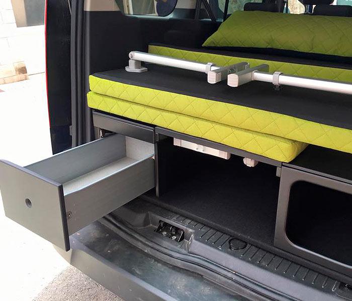 Muebles furgoneta hogar y ideas de dise o - Muebles para camperizar furgonetas ...