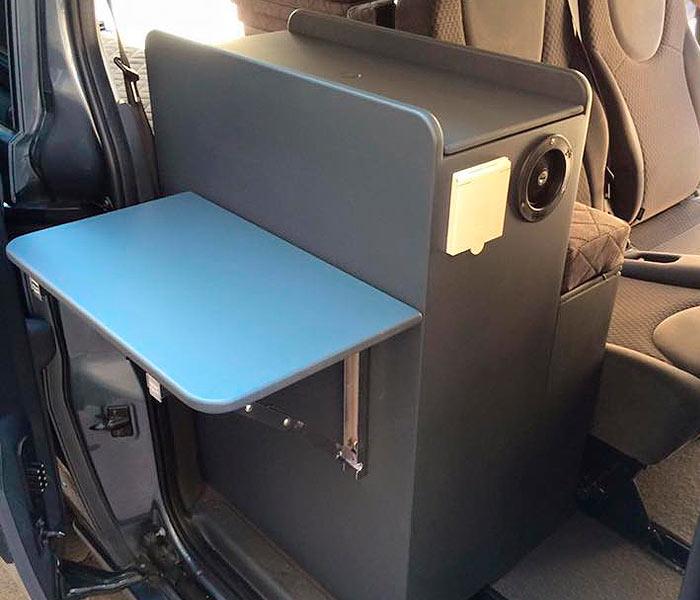 Furgo muebles muebles para camperizar tu furgoneta for Muebles furgoneta camper