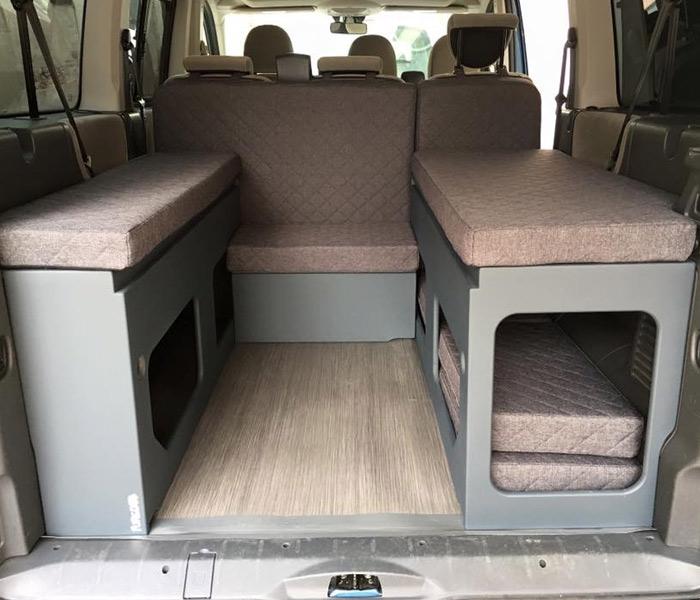 Furgo muebles muebles para camperizar tu furgoneta for Muebles para furgonetas