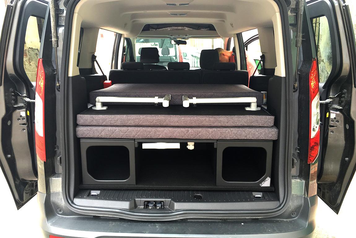 Muebles ford turneo connect furgo muebles muebles para - Muebles para camperizar furgonetas ...